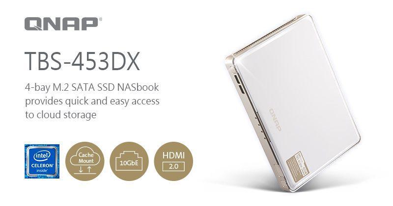QNAP Introduces the TBS-453DX NASbook