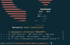 Metasploit Framework 5.0 Released